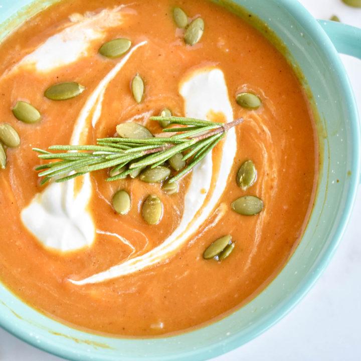 Savory Pumpkin Soup