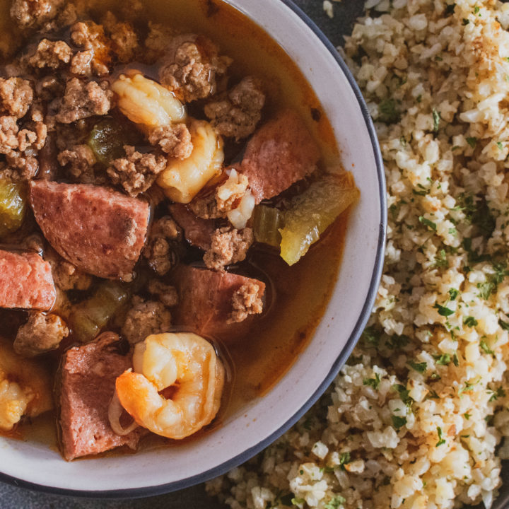 Low Carb Gumbo