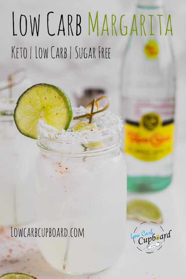 A delicious Low Carb Margarita perfect to drink on a keto diet. An easy to make sugar free cocktail. Just a few ingredients to make this cocktail! #ketomargarita #ketococktail
