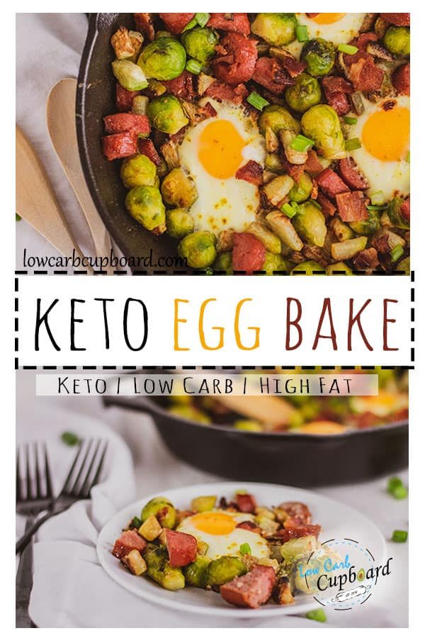 Easy and delicious Keto Egg Bake. This keto breakfast is just like an egg and potato meal. Chayote is the perfect potato substitute #ketobreakfast #ketoeggrecipe