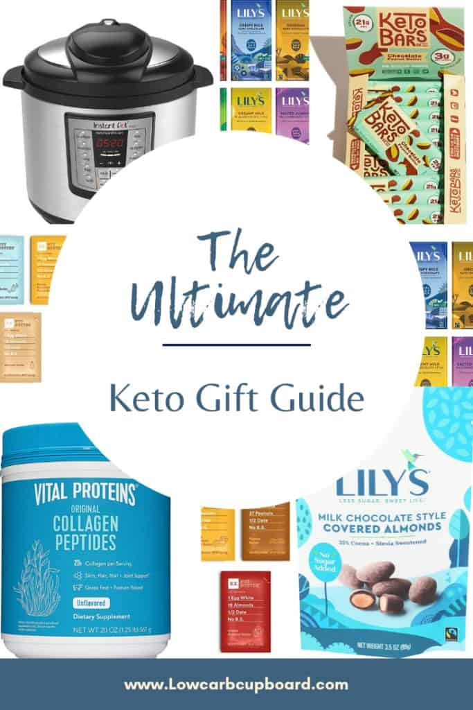 The Holidays are approaching. The Ultimate Keto Gift Guide has tons of ideas and awesome gifts for your friends and family that they will love! #ketogiftguide #giftguide