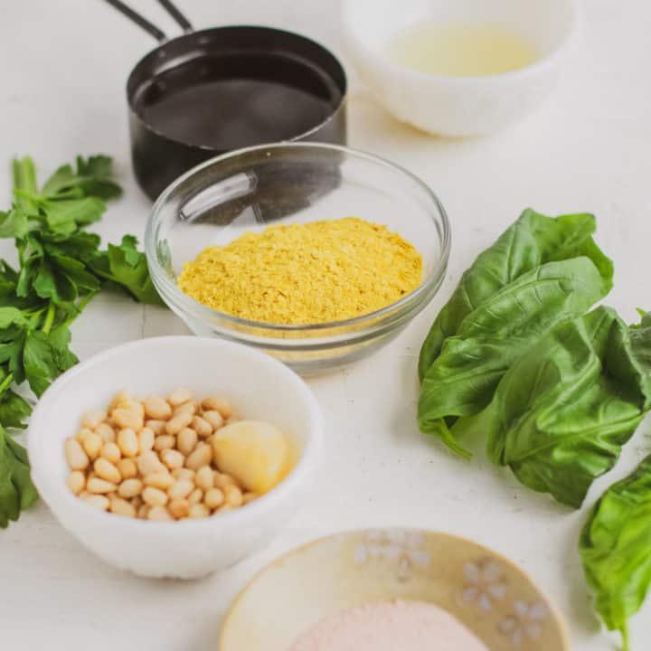 How to Make Basil Pesto